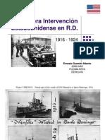 1era Intervención Norteamericana en R.D. (1916-1924)