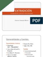 La extradición en R.D.