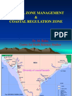Coastal Zone Manangement & Coastal Regulation Zone
