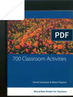 700 Classroom Activities Seymour&Popova