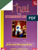 Becker - Thai for Intermediate Learners