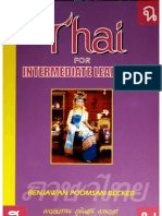 Becker - Thai for Intermediate Learners