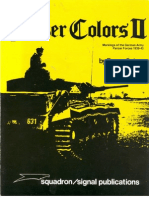 Panzer Colors II - Markings of the German Army Panzer Forces 1939-45
