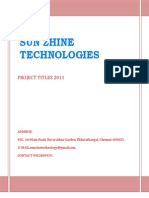 Project Title Book 2011