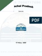 Himachal Pradesh IT Policy 2009