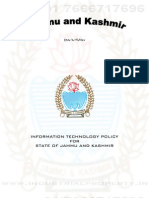Jammu & Kashmir IT Policy