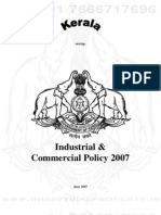 Kerala Industrial Policy 2007