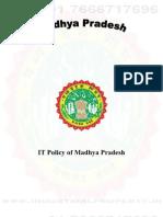 Madhya Pradesh IT Policy 2006
