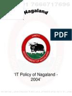 Nagaland IT Policy 2004