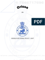 Orissa Industrial Policy 2007