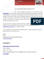 New York Silicon Alley Weekly Newsletter 09-March-2012