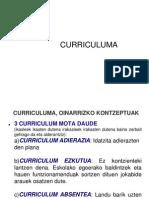 Curriculumaren Iturburuak Eta Zehaztapen Mailak