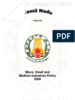 Tamil Nadu Industrial Policy 2008