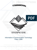 Uttarakhand IT Policy 2006