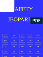 Safety Jeopardy