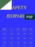 Safety Jeopardy