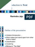 Text Mining Intro