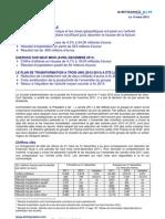 Resultats Air France 2011