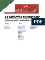 Griffonnages _ La Collection Permanente