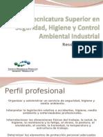 Tecnicatura Superior en Seguridad Higiene y Control Ambiental Industrial