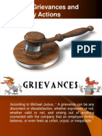 Employee Grievance and Disciplinary Action