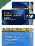 Best Practices in OO Lotus Script Final Draft