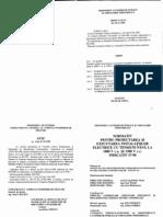 I7-98 - Normativ Pt. Proiectarea Si Executarea Inst. Electrice