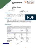 Pdhg - Methyl Isobutyl Ketone - Nov-2011