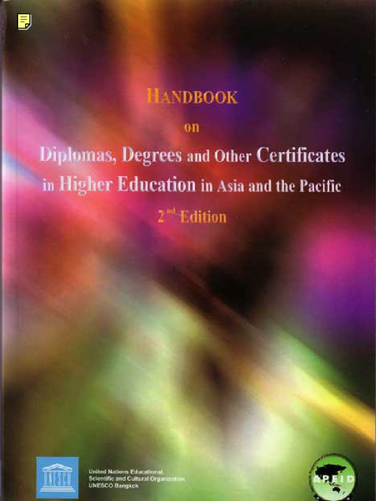Handbook On Asian Education179231519 Academic Degree Diploma Ocean Park Fast Track Admission Package Anak 3 11 Thn