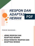 Respon Dan Adaptasi Hewan ion