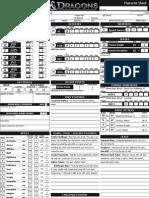 D&D 4E Character Sheet1