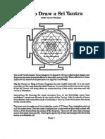 How to draw Sri Shri Yantra Draw Pat Flanagan