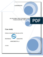 Operations Management Case Study
