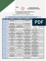 Πρόγραμμα Προπτυχιακών Μαθημάτων Εαρινού Εξαμήνου 2012 (Ακαδ. έτους 2011-2012) ΤΕΛΙΚΟ