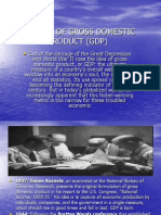 History of Gross Domestic Product (Gdp)