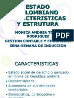 Estado Colombiano Caracteristicas y Estrutura
