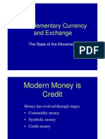 Thomas H. Greco Jr. - Complementary Currency and Exchange - The State of Movement