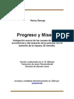 Henry George - Progreso y Miseria