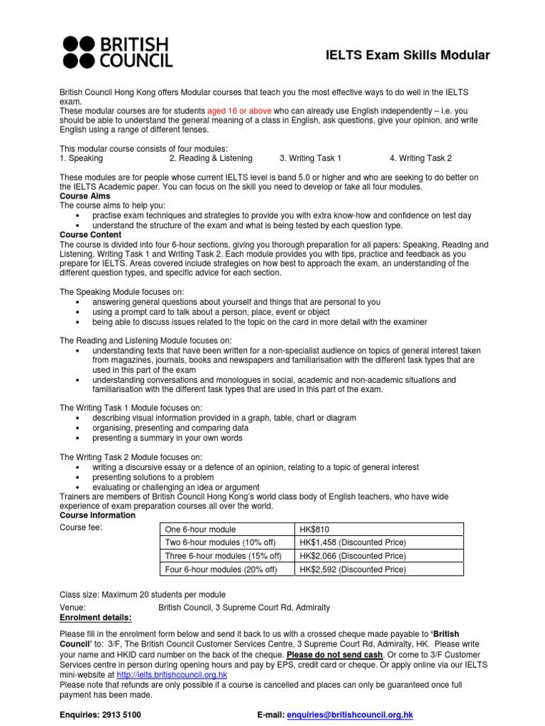 itels | International English Language Testing System | Test