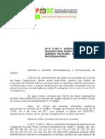 Parecer nº 2-11 - Lei 12.403-2011 Alterações CPP