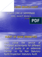 Bank Branch Audit Presentation 2