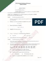 BTEC NC - Maths - Algebraic Methods