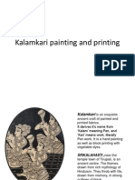 Kalamkari Painting and Printing