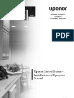 Control System DEM Installation Operation Manual