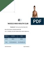 Muscle Max Health Club