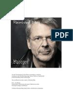 Reinhard Mey Mairegen Notenheft