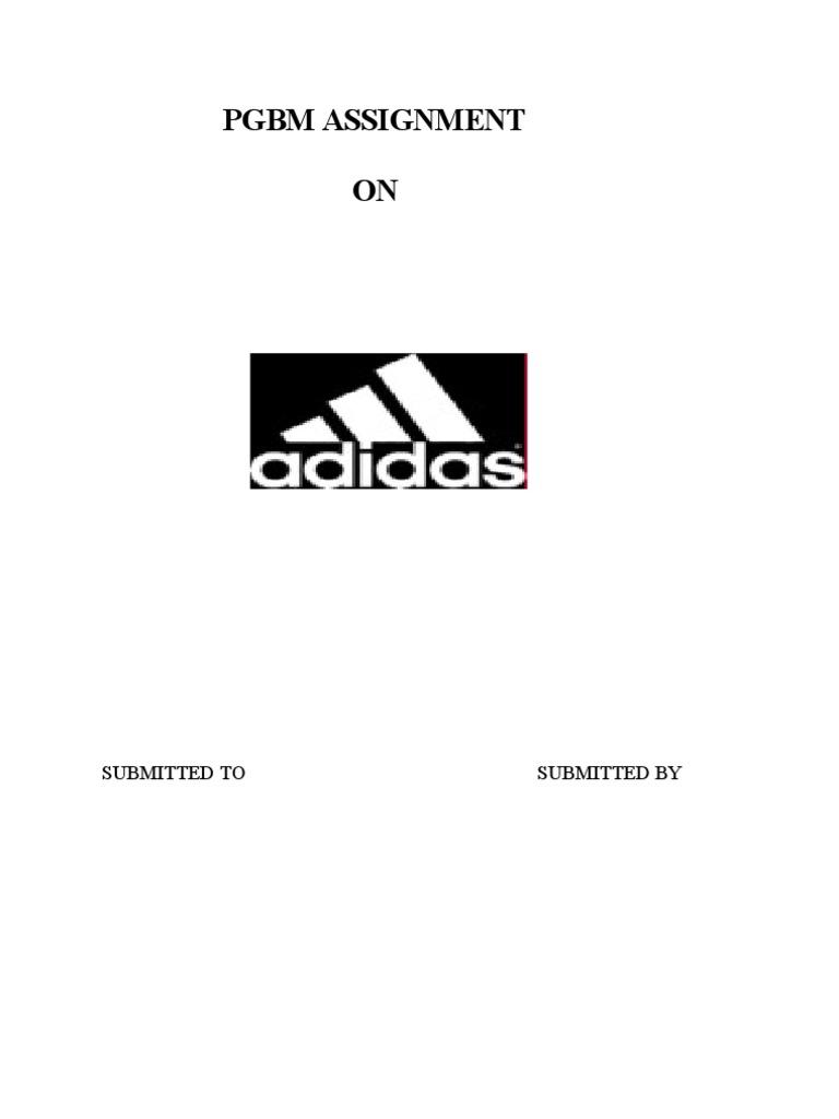 Adidas And Its Marketing Strategy Adidas Brand