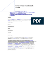 Reseña histórica de la evolución de la ciencia financiera