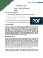 TAJUK 6 - Budaya Dan Komunikasi (2)