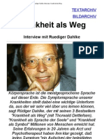 Ruediger Dahlke Interview_ Krankheit Als Weg